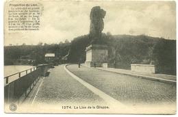 La Gileppe  Le Lion De La Gileppe 1274 Proportion Du Lion - Gileppe (Stuwdam)