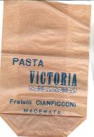 PO6753D# SACCHETTO PUBBLICITA' PASTA VICTORIA F.lli CIANFICCONI - MACERATA Anni '20 - Altre Collezioni