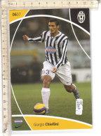 PO6780D# CALCIO - JUVENTUS TAMOIL - GIORGIO CHIELLINI  No VG - Calcio