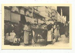 Réédition De Cp , Ed : Cecodi , Vierge ,  COMMERCE AMBULANT , Le Marché Dans La Rue , Paris Vécu - Marchands