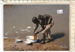 PO6814D# CAMERUN - LAVANDIERE - PHOTO ALAIN DENIS - LAVANDAIE  VG 1986 - Camerun