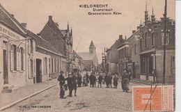 Kieldrecht Dorpstraat Gemeentehuis Kerk - Beveren-Waas