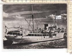 PO7083D# RIMINI - PORTO CANALE - NAVE SAN GIUSTO SOC. ANONIMA NAVIGAZIONE ISTRIA-TRIESTE  VG 1942 - Rimini