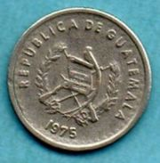 C4/  GUATEMALA  5 Centavos 1975  Km#270 - Guatemala