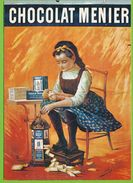 Affiche Publicitaire CHOCOLAT MENIER Par M. Jacob - Werbepostkarten