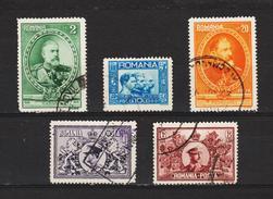 1931 - Cinquantenaire Du Royaume Mi No 397/401 Et Yv No 406/410 - Gebraucht