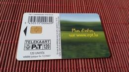 TP 35 Phonecard Luxemburg 120 Units Used  Rare - Luxemburg