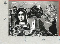 CARTOLINA VG ITALIA - CASTELLO DI CANOSSA (RE) - Vedutine -  10 X 15 - ANN. 1963 - Reggio Nell'Emilia
