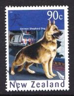 New Zealand 2006 Year Of The Dog 90c German Shepherd Used - - - Nouvelle-Zélande