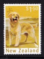 New Zealand 2006 Year Of The Dog $1.50 Retriever Used - - - New Zealand