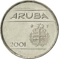 Aruba, Beatrix, 5 Cents, 2001, Utrecht, TTB+, Nickel Bonded Steel, KM:1 - Antilles Neérlandaises