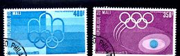EDY 658 - MALI 1975 , Due Valori Usati . OLIMPIADI MONTREAL - Estate 1976: Montreal