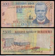 Malawi 500 KWACHA 2001 P 48 CIRC. - Malawi