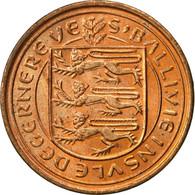 Guernsey, Elizabeth II, 1/2 New Penny, 1971, Heaton, TTB+, Bronze, KM:20 - Guernesey