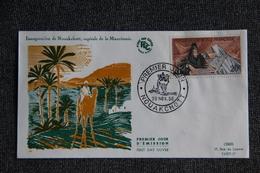 FDC - 1er Jour D'Emission - Inauguration De NOUAKCHOTT, Capitale De La MAURITANIE - Mauritania (1960-...)