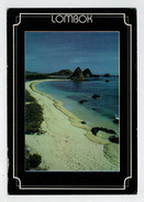MAXI  CARD   BALI   LOMBOK   KUTA  BEACH    2  SCAN   (VIAGGIATA) - Indonesia