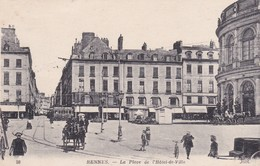 [35] Ille Et Vilaine > Rennes La Place De L'hôtel De Ville - Rennes