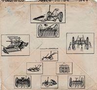 Enveloppe Commerciale AMOUROUX Frères 1928 / Machines Agricoles / 31 Toulouse - Cartes