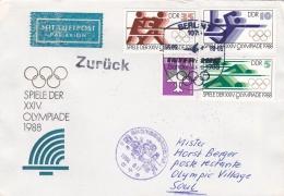 DDR Special Flight  1988 Olympic Summer Games Seoul   (DD3-24) - Verano 1988: Seúl