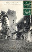 16 - VIBRAC --  Ruines Du Château - Otros Municipios