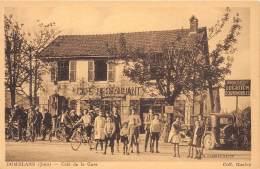 39 - JURA / 39051 - Domblans - Café De La Gare - Beau Cliché Animé - Autres Communes
