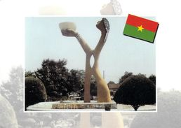 Afrique > Burkina Faso  Place Noa-ba Koom, Le Roi De L'eau ( NABA KOOM  Ouagadou )( LA CARTE AFRICAINE N°604)*PRIX FIXE - Burkina Faso