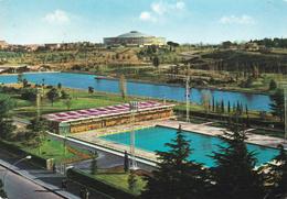 ROMA EUR - E.u.r. - Piscina Delle Rose , Il Lago E Il Palazzo Dello Sport - 1961 - Roma (Rome)