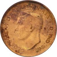 Australie, George VI, 1/2 Penny, 1942, TTB, Bronze, KM:41 - Monnaie Pré-décimale (1910-1965)