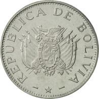 Bolivie, 50 Centavos, 1997, SUP+, Stainless Steel, KM:204 - Bolivie