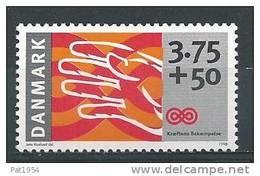 Danemark 1998 N°1197  Neuf ** Surtaxe Contre Le Cancer - Danemark