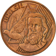 Brésil, 5 Centavos, 1998, TTB, Copper Plated Steel, KM:648 - Brésil