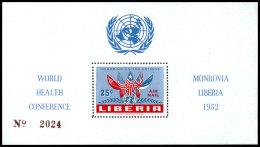 Liberia, 1952, United Nations, MNH, Michel Block 6A - Liberia