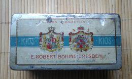 Alte KIOS - Zigarettendose / Tabakdose - Raucherutensilien (ausser Tabak)
