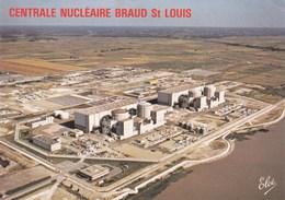 BRAUD SAINT LOUIS - Centrale Nucléaire (vue Aérienne) - - France