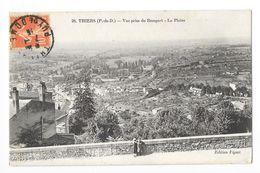 THIERS  (cpa 63)  Vue Prise Des Remparts - La Plaine  -   - L 1 - Thiers