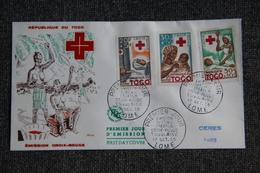 FDC  - 1er Jour D'Emission - République Du TOGO, Emission Croix Rouge. - Togo (1914-1960)