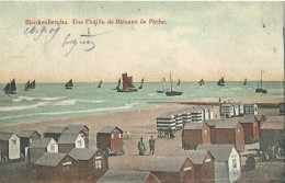 Blankenberge Blankenberghe Une Flotille De Bâteaux De Pêche - 1909 - Blankenberge