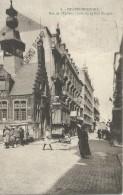 Blankenberge Blankenberghe Rue De L'Eglise - Coin De La Rue Longue - 1921 - Blankenberge
