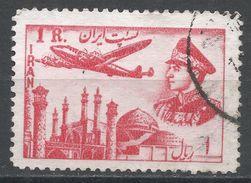 Iran 1953. Scott #C69 (U) Plane Above Mosque. Avion. Mosque. Shah - Iran