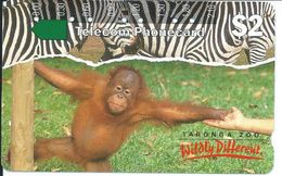 Singe Monkey Animal Jungle Télécarte TELECOM AUSTRILIA Phonecard Australie Telefonkarte (S.413) - Australie