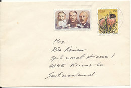 South Africa RSA Cover Sent To Switzerland 1977 - South Africa (1961-...)