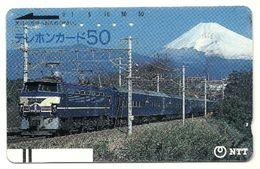 Giappone - Tessera Telefonica Da 50 Units T314 - NTT - Treni