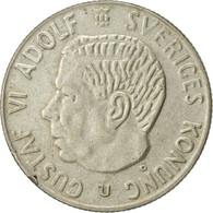 Suède, Gustaf VI, Krona, 1967, TTB, Argent, KM:826 - Suède