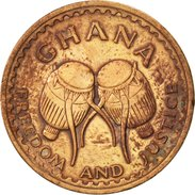 Ghana, 1/2 Pesewa, 1967, TTB, Bronze, KM:12 - Ghana