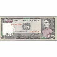 TWN - BOLIVIA 167c - 1000 1.000 Pesos Bolivianos 25.6.1982 Serie K1 UNC - Bolivia