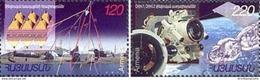 Armenia Armenien Arménie MNH** 2002 Mi 475-476 Space Explorations Cosmic Research - 2 Stamps - Armenien