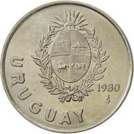 Uruguay, Nuevo Peso, 1980, Santiago, TTB+, Copper-nickel, KM:74 - Uruguay