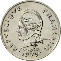 French Polynesia, 10 Francs, 1979, Paris, SPL, Nickel, KM:8 - Polynésie Française