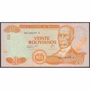TWN - BOLIVIA 234 - 20 Bolivianos 28.11.1986 (2007) Serie H - Printer: FCO UNC - Bolivia