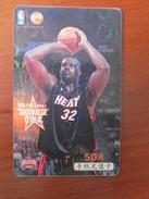 China Mobile Recharge Card,NBA Basketball All Star O'Neal - Sport